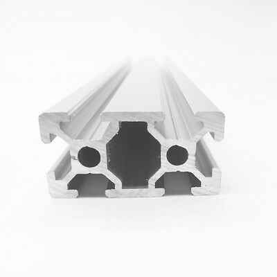 Aluminum T-slot Extruded Framing Profile 20x40 Metric Series Length Choose
