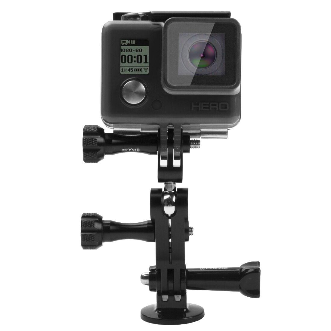 Tripod Mount Black adaptador con tornillo para GoPro Hero 5//Hero 5 session