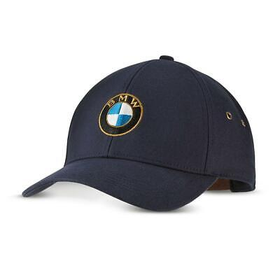 BMW Classic Cap - Dark Blue with Embroidered Classic BMW Logo 80162463137