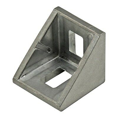 8020 Inc T-slot 2 Hole Corner Bracket 10 20 25 Series 14059 2 Pack N