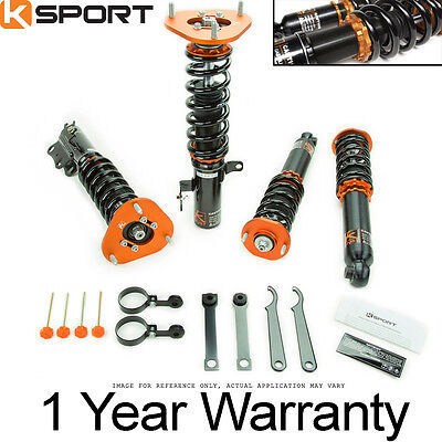 Ksport Kontrol Pro Damper Adjustable Coilovers Suspension Springs Kit CSC010-KP