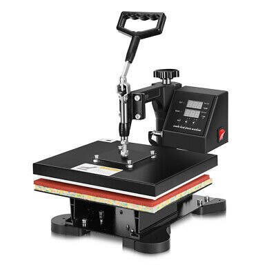 Vivohome Heat Press Machine 360 Swing Away Digital Sublimation T-shirt Transfer