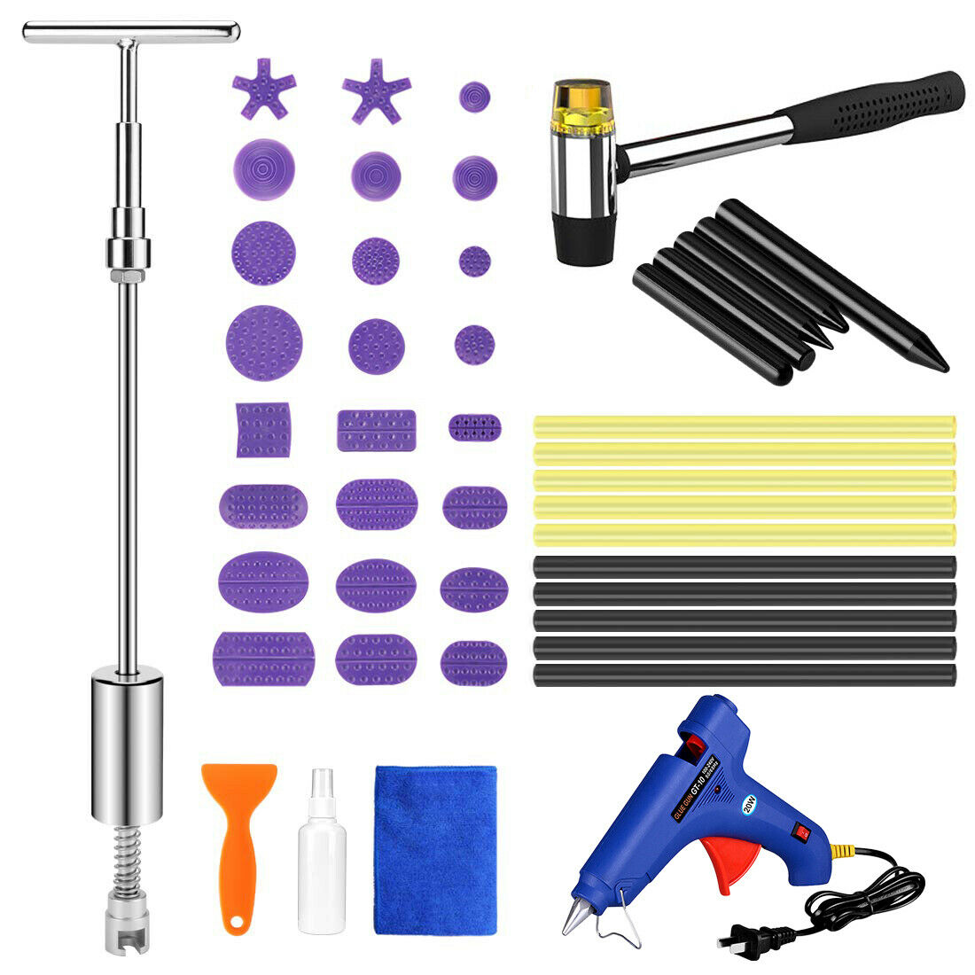 Car Dent Remover Tool Repair Tools Slide Hammer Puller Paintless Removal Tools