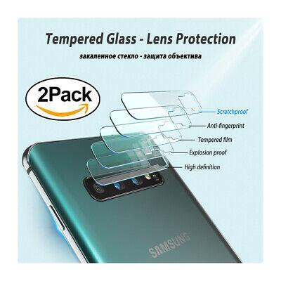 Für Samsung Galaxy S10 - 2x Kamera Folie 9H Glasfolie Schutzfolie Panzerfolie ()