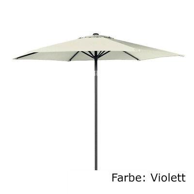 2. Wahl Hartman Sonnenschirm Violett Ø 300 cm Solar Line Marktschirm Schirm
