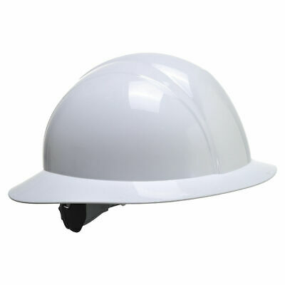 Portwest Full Brim Helmet Hard Hat Construction Work Protective Ansi E Ps52