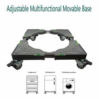 Adjustable Multifunction Move Base Universal Dolly 4 Double Wheel Refridgerator