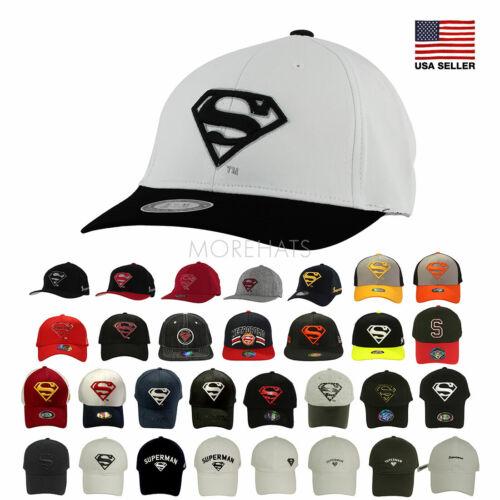 Superman Superhero Hip-hop New Era Trucker Snapback Casual Baseball Cap Men Hat