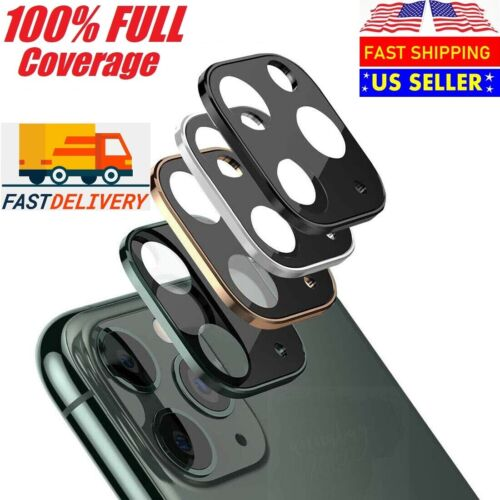 For iPhone 11 Pro Max Full Cover 20D Tempered Glass Camera Lens Screen Protector Cell Phone Accessories