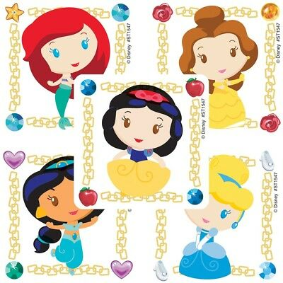 Princess Stickers x 5 - Disney Princess Party Bag & Loot Ideas Birthday Favours