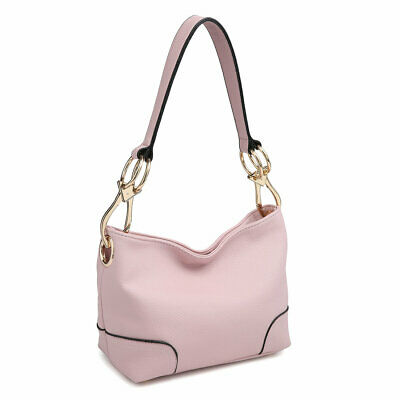 - Dasein Women Handbag Corner Patched Hobo Tote Bag Shoulder Medium Purse