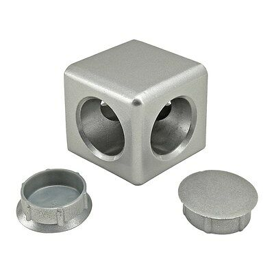 8020 Inc T-slot Aluminum 2 Way Light Squared Connector 15 Series 14176 N