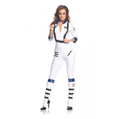 Space Woman Halloween Costumes (Blast Off Womens Adult Astronaut Space Explorer Halloween)