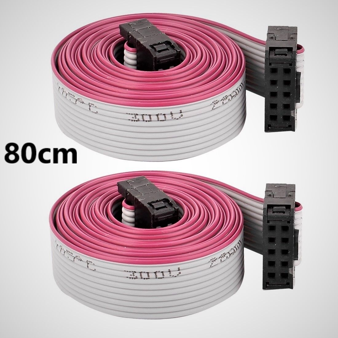80cm 2004 12864 LCD Extension Cable 3D Printer Prusa Folger Anet Creality Ramps