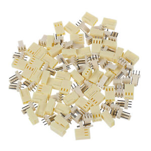 50 pcs KF2510-3P 2.54mm PCB header 3-Pin connector Crimp Terminal Housing T5O4
