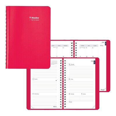 Blueline Academic Weekly Planner Fashion 2019-2020 -english 4 Colors Available