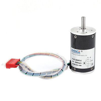 Dc 24v 5000rpm 38mm Diameter Speed Control Brushless Motor Bldc-38srz-s