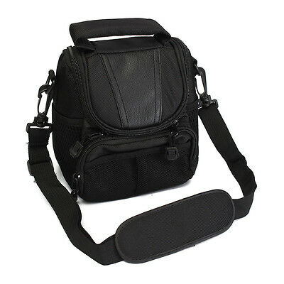 Small Nylon Waterproof Camera Shoulder Bag Case Handbag For Nikon SLR DSLR P6M2
