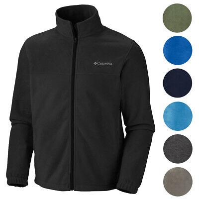 Columbia New Mens Original Warm Winter Fleece Zip Up Jacket