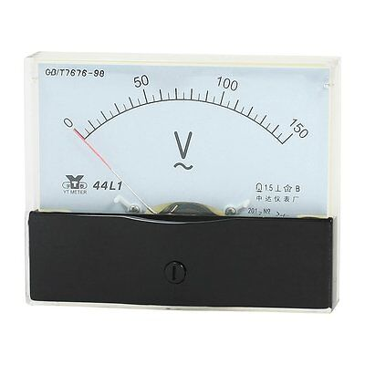 Ebay Measurement Tool 1.5 Accuracy Analog Panel Voltmeter 44l1 Ac 0-150v New