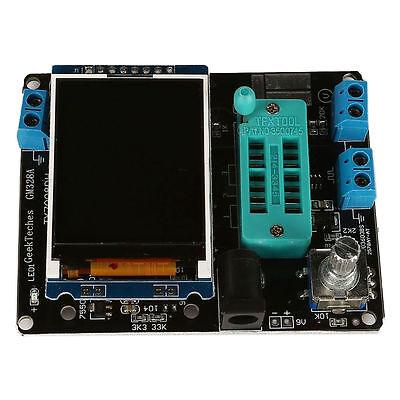 2018 New Transistor Tester Lcr Diode Capacitance Esr Meter Signal Generator Mos