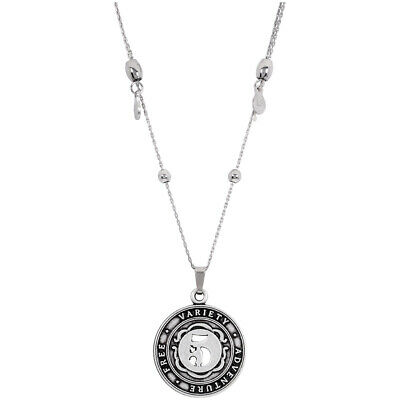 Alex and Ani Numerology Number 5 Silver 30 Inches Necklace A15EN47RS