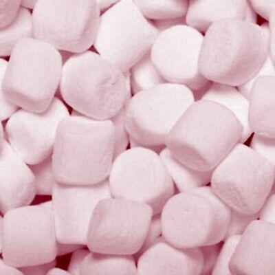 MARSHMALLOW ROSA Kg 1 Marshmallow colore Rosa ideale per battesimo bimba