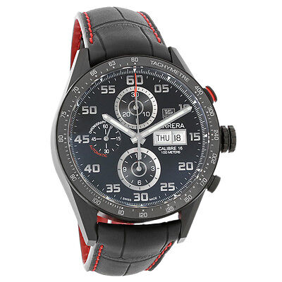 Tag Heuer Carrera Mens Swiss Automatic Chronograph Watch CV2A81.FC6237