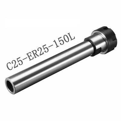 C25 Er25 150l Router Collet Chuck Extension Rod Straight Cnc Milling Tool Holder