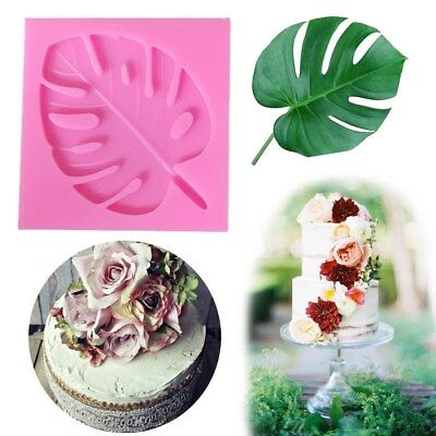 Turtle Cake Decorations (Turtle Leaves Silicone Fondant Mold Chocolate Sugarcraft Mould Cake Decor)