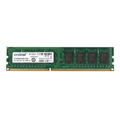 Pin Desktop-speicher-modul (Crucial 8GB PC3-12800U DDR3 1600MHz 240pin RAM DIMM Desktop-Speichermodul @MT)