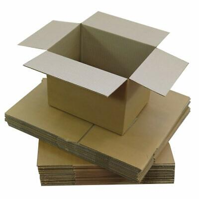25 x Cardboard Postal Packaging CUBE Box Royal Mail Parcel Size 8'' x 8'' x 8''