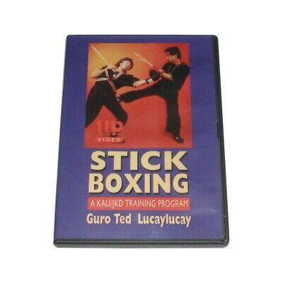 Stickboxing Filipino Kali/Jeet Kune Do DVD Ted Lucaylucay martial arts escrima