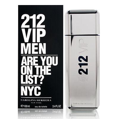 212 VIP MEN de CAROLINA HERRERA - Colonia / Perfume 100 mL...