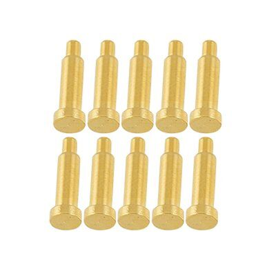 10 Pcs Spherical Tipped Spring Loaded Probes Testing Pins Ad