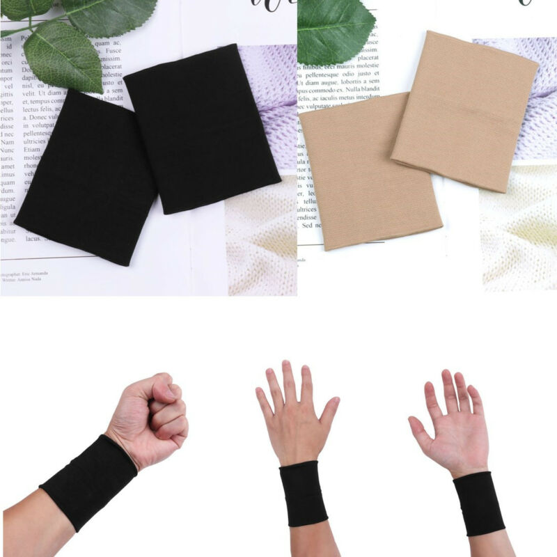US Wrist Support Compression Sleeves Forearm Tattoo Cover Up