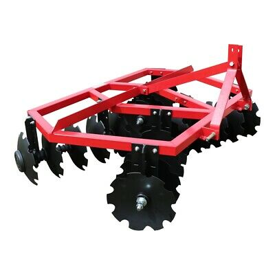 Titan Attachments 6 Ft Notched Disc Harrow Plow Category 1 3 Point
