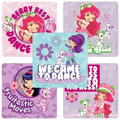 Strawberry Shortcake Stickers x 5 - Birthday Party Supplies - Square Loot - Strawberry Shortcake Party Ideas