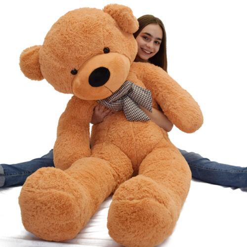 "Giant Teddy Bear Plush Stuffed Animal Toys Christmas Valentine Birthday Gift 47"""