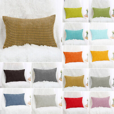 Rectangle Pillow Cases Throw Pillow Cover Christmas Gift Cus