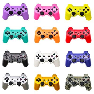 For PLAYSTATION 3 WIRED AND WIRELESS  CONTROLLER BLACK - JOYPAD For PS3