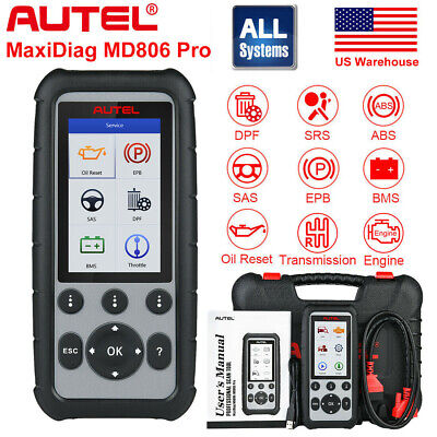 Autel MD806 Pro OBD2 Auto Diagnostic Scanners Oil Reset ABS Better MD805