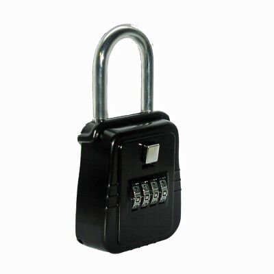 Key Lock Box For Home Security Welfare Check Medical Emergency - Door Hanger