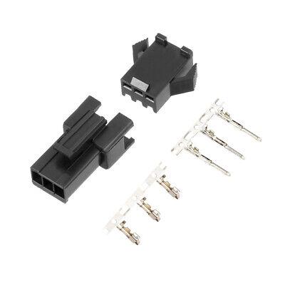 2.54mm 3 Pin Male Female Jst-sm Housing Crimp Terminal Connector