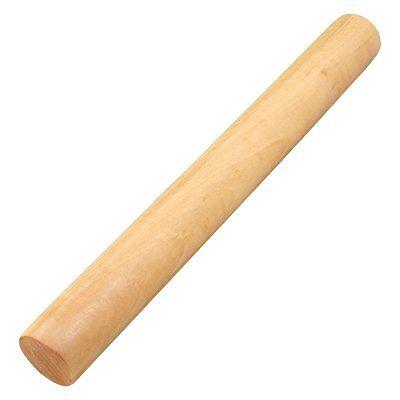 Wooden Flour Dough Rolling Pin Roller Stick 9.2 Inch Length Wood New