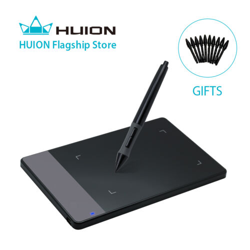 "Huion 420 4x2.23"" Signature Pad Graphic USB Drawing Tablet for Windows Mac+Gift"