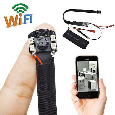 DIY Module SPY Camera Wifi IP Wireless Hidden DVR Night Vision Motion Detection