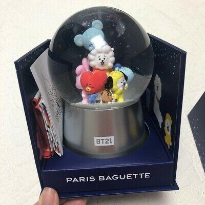BT21 x Pari  Baguette Snow Globe Ball (Remove Battery)