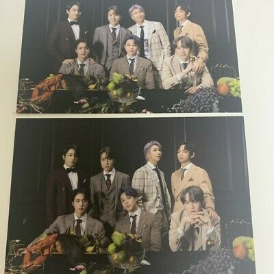 BTS Official Public Broadcast PhotoCard - Map of the Soul 7 ON Group