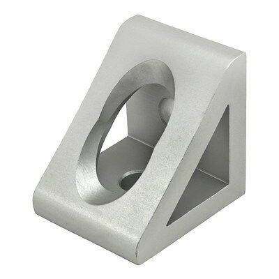 8020 Inc T-slot Aluminum 2 Hole Gusseted Bracket 40 Series 40-4332 N